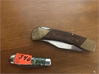 Two pocket knives