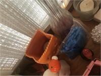 Multipurpose bag clips & recipe box