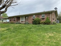 Brick Home & 1.6+-Acres, Garage, Carport, Paved Drive