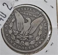 1896 O Morgan Silver Dollar G