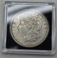 1921 D Morgan Silver Dollar XF