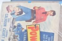 1953 Powder River Original Billboard Poster