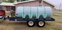 1000 Gallon Nurse Tank w/ Pump