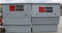 (2) Power Guard Boxes