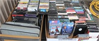 Misc VHS tapes, cassettes, etc