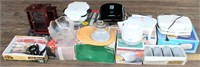 Misc Kitchen Appliances, glassware, etc.  all new/never used