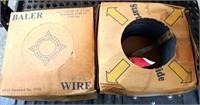 Rolls of Baler Wire