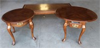 (3) Side Tables (one is a drop leaf)