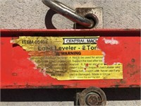 Central Machinery Load Leveler
