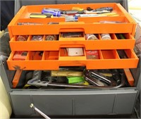 Large Tool/Storage Box w/contents
