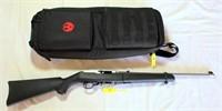 Lot 6011/Gun 11 - Ruger 10-22 Rifle, SS Take Down, SN: 826-78463 w/case