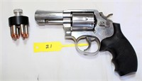 Lot 6021/Gun 21 - Smith & Wesson Pistol, Mdl 65-5, Double Action, 357 cal, SN: BRN8679