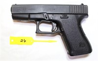 Lot 6026/Gun  26 - Glock 23 Pistol, 40 SW cal, SN: BFU906US