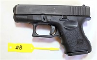 Lot 6028/Gun 28 - Glock 27 Pistol, 40 SW cal, SN: BVK962US