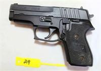 Lot # 6029/Gun 29 - Sig Sauer P245 Pistol, 45 cal, SN: C013015 w/paddle holster