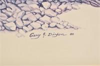 ROADRUNNER Print by Artist Gary J. Dixon 1980