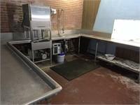 Hobart commercial dishwasher system