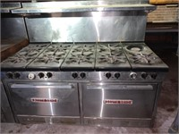 """SouthBend 60"""" Double Oven"""