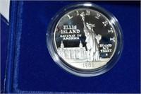 1986 Ellis Island/Liberty Commemorative Proof Two