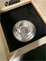 Custom Made Halogen Wood Ivory Uplights
