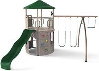 Lifetime Adventure Tower Swing Set