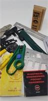 Small hand tool lot