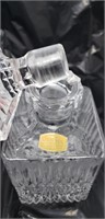 Lead crystal decanter & Scotch glass decanter