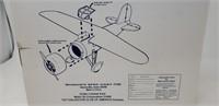 Mobilgas Die Cast Metal Vintage Airplane Bank