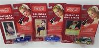 Coke Cola Calendar Girl Series, die cast cars