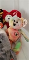 Beanie Babies & Small Stuffed animals