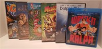 DVD (sealed) & Blu-ray Kids Movie collection