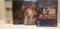 Blu-ray collection, factory sealed