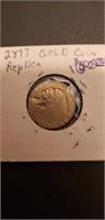 Gold Coin Replica