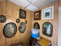 Large Collection Oval Picture Frames
