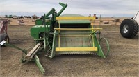 Early 1940's JD 12A Clipper Combine , 4cyl gas eng