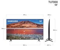 "Samsung 58"" TU7000 4K Crystal UHD HDR Smart TV"