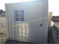 BRAND NEW 9' CONTAINER W/ WINDOW & DOOR