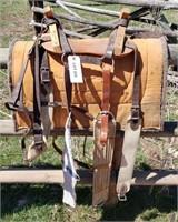 Cross Buck Pack Saddle w/ Pad