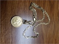 1882 Gold Coin Necklace