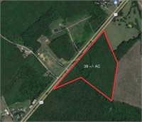 39 AC near Keysville, VA - Online Only Bidding