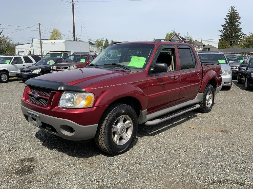 VEHICLE AUCTION, MAY 1-7