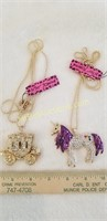 2 Betsy Johnson Necklaces