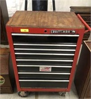 CRAFTSMAN BASE TOOLBOX W/ CASTERS