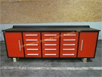 BRAND NEW STEELMAN 10FT WORK BENCH WITH DRAWERS