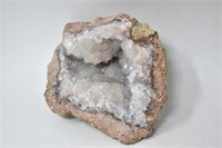 "Gray Crystal Geode 7"""