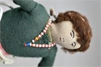"Native American Souvenir Doll 10"""