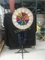 Promotional Spinning Wheel w/ Cover