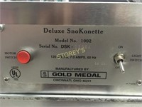 Gold Medal Deluxe Snow Cone Machine