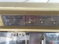 Gold Medal Popcorn Machine w/ Cart
