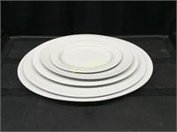"""Set of 5 Platters from 10"""" - 20"""""""